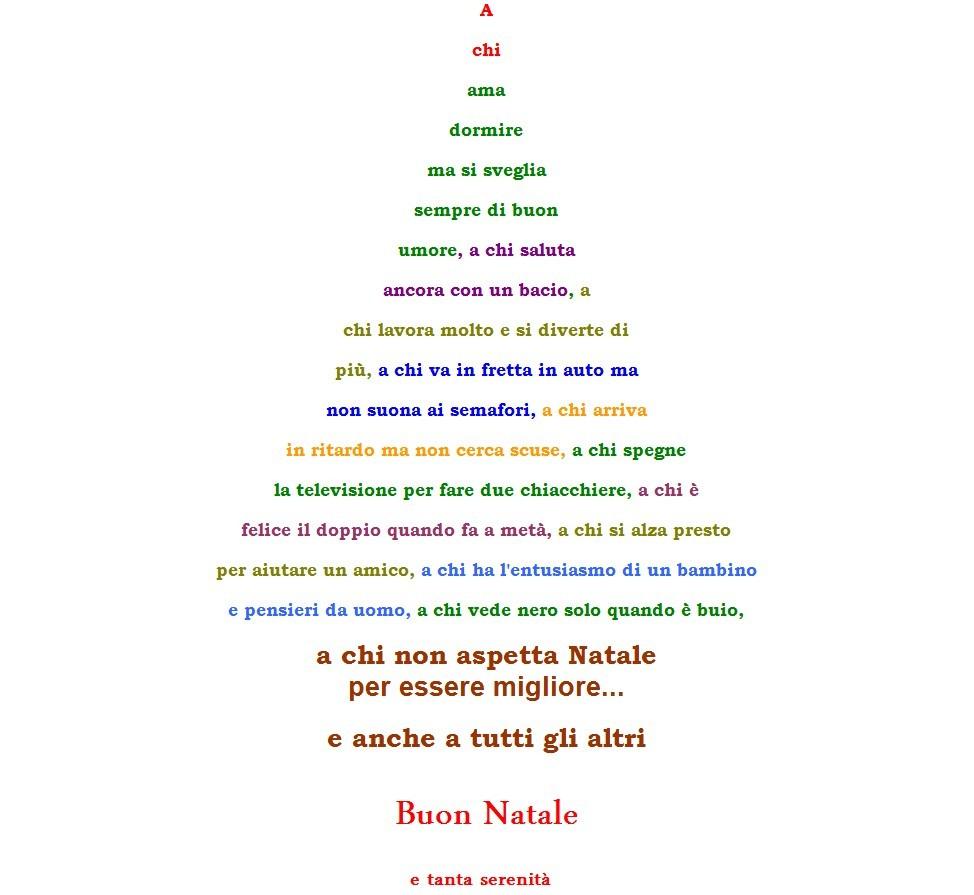 Natale pensieri e riflessioni