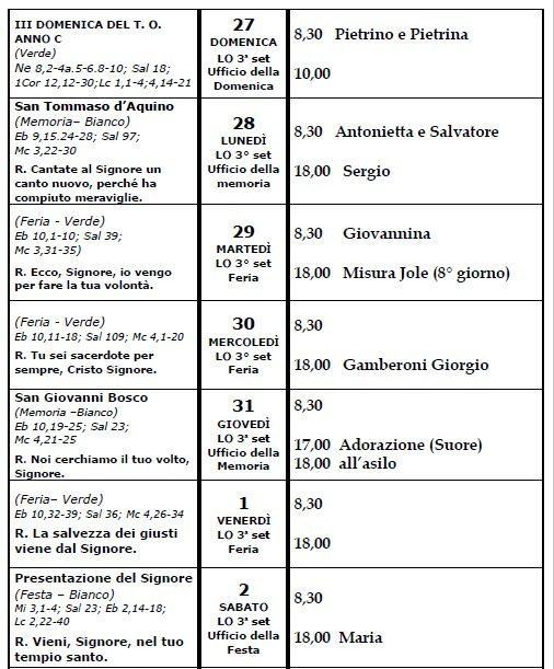 calendario liturgico-27-01-19_02-02-19