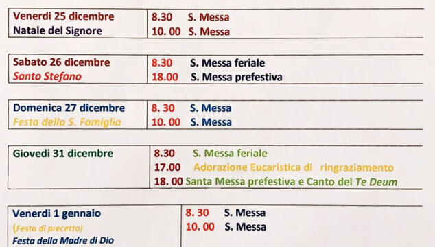 Orari_Messe_Santo_Natale_2020