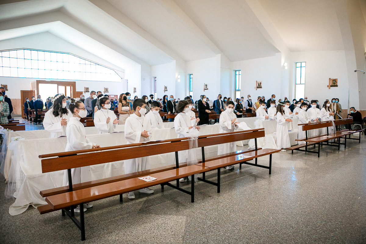 Prime Comunioni parrocchia San Paolo Oristano